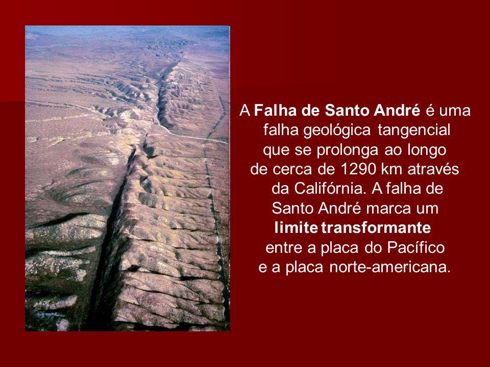 A Falha de Santo André é uma falha geológica tangencial que se prolonga ao longo de cerca de 1290 km através da Califórnia. A falha de Santo André mar