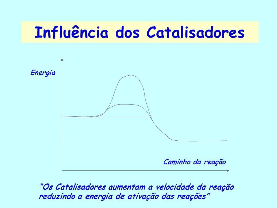Influência da Energia Elétrica Influencia em reações de oxi-redução, pode iniciar uma combustão através de uma faísca elétrica, etc