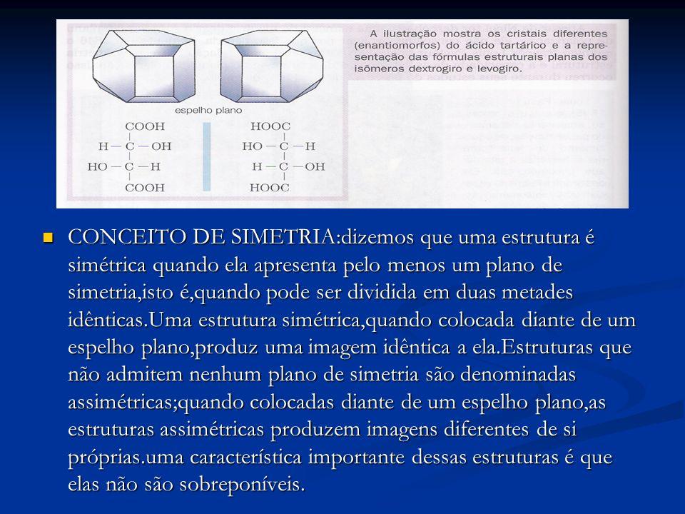 CONCEITO DE SIMETRIA:dizemos que uma estrutura é simétrica quando ela apresenta pelo menos um plano de simetria,isto é,quando pode ser dividida em dua