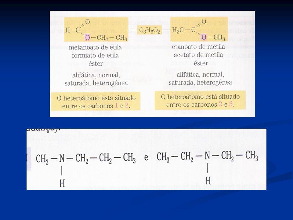 e)Isomeria dinâmica ou tautomeria: é um caso particular de isomeria de função,no qual os isômeros coexistem em equilíbrio dinâmico em solução.Os casos mais comuns de tautomeria ocorrem entre:aldeído e enol;cetona e enol.