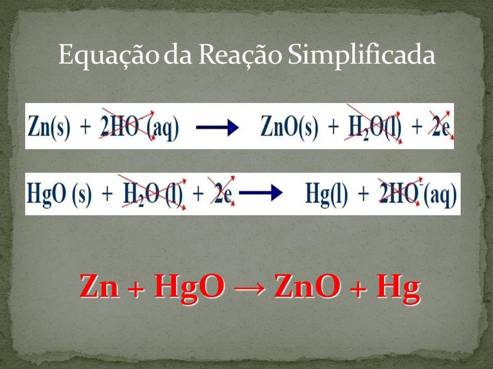 Zn + HgO ZnO + Hg