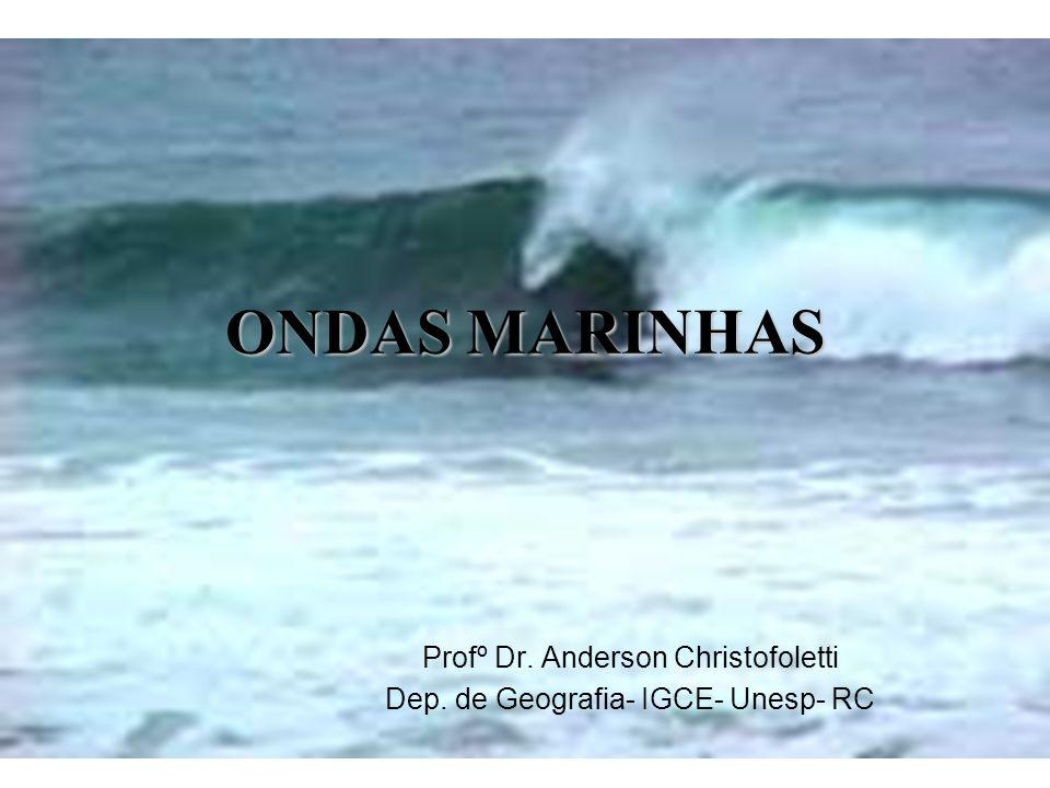 ONDAS MARINHAS Profº Dr. Anderson Christofoletti Dep. de Geografia- IGCE- Unesp- RC