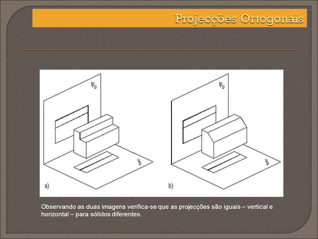 Com a introdução de outro plano vertical – perfil – resolve-se o problema anterior.