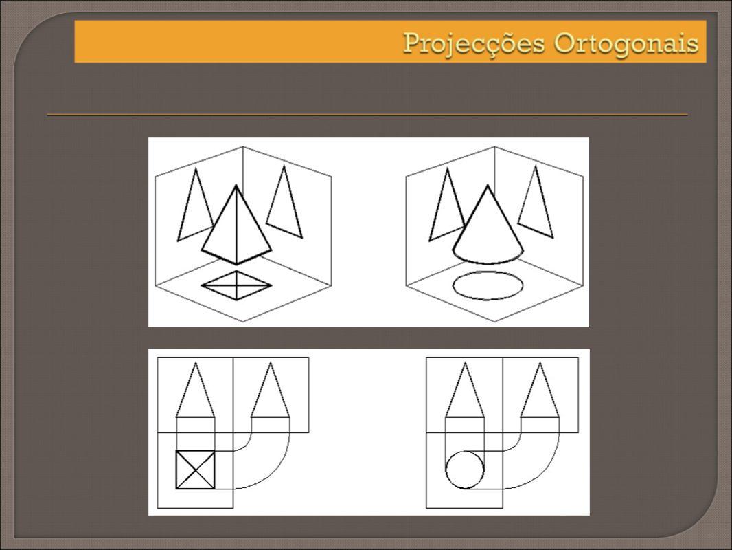 A introdução de planos de projecção poderão ser no máximo seis – 4 verticais e dois horizontais.
