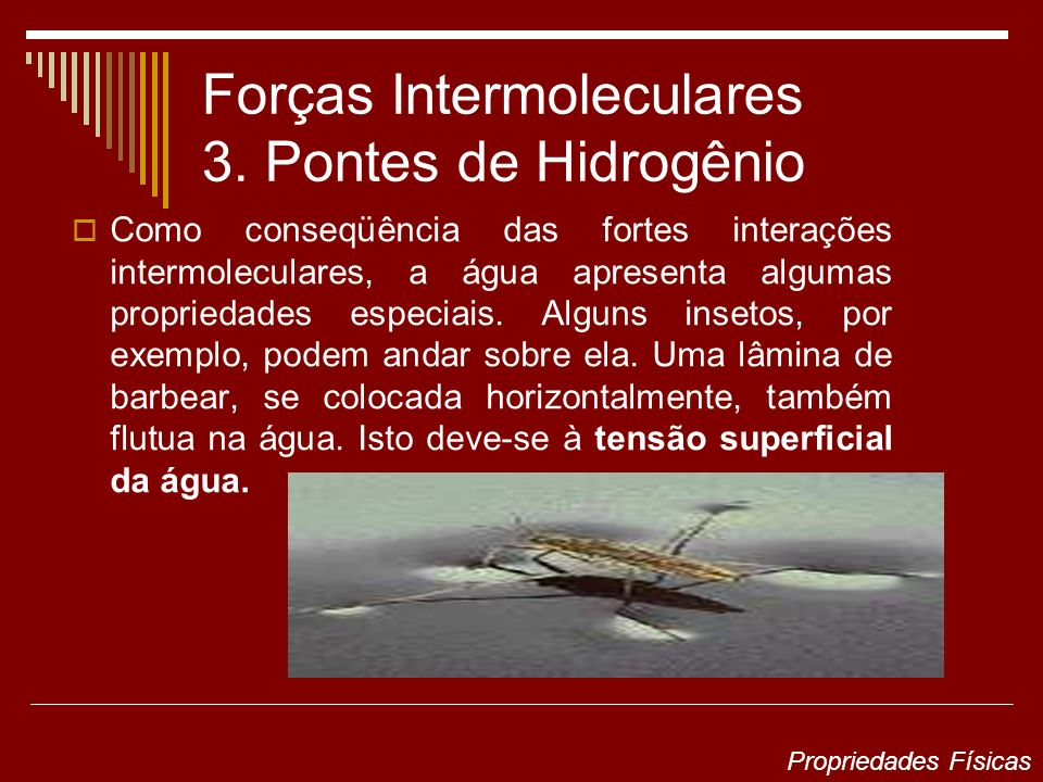 Forças Intermoleculares 3.