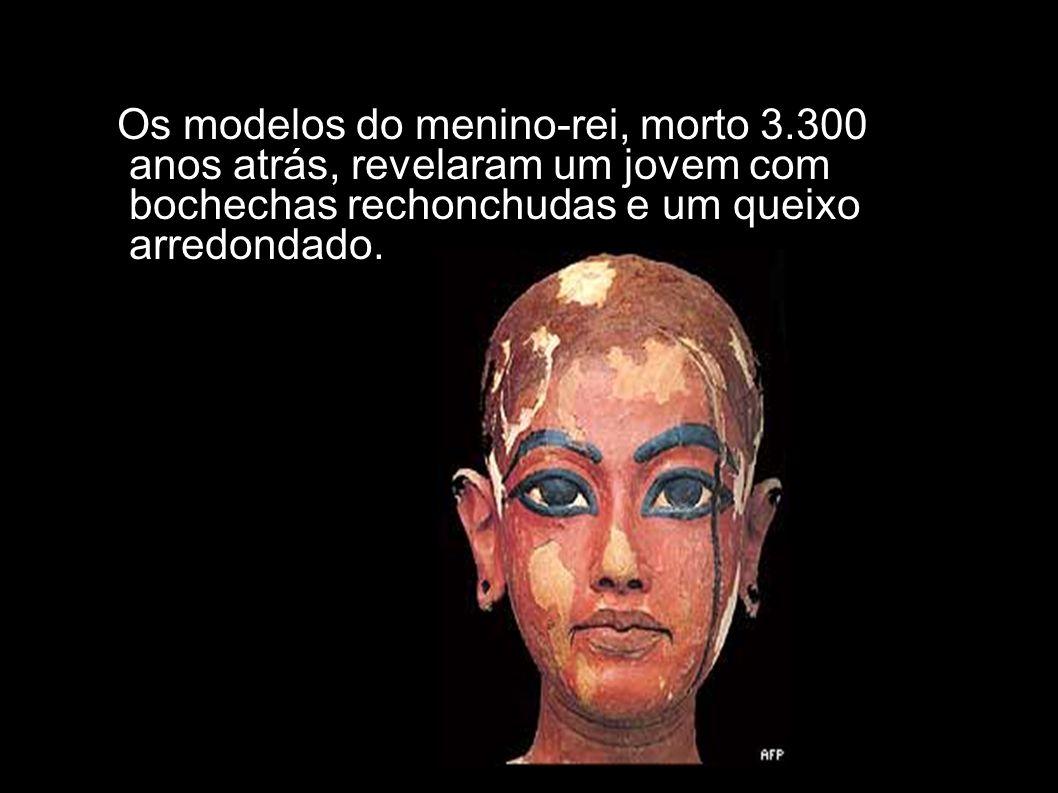 Os modelos do menino-rei, morto 3.300 anos atrás, revelaram um jovem com bochechas rechonchudas e um queixo arredondado.