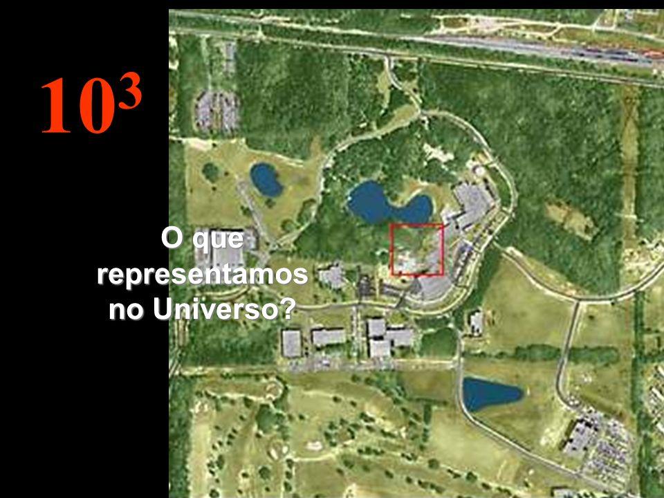 10 3 O que representamos no Universo?
