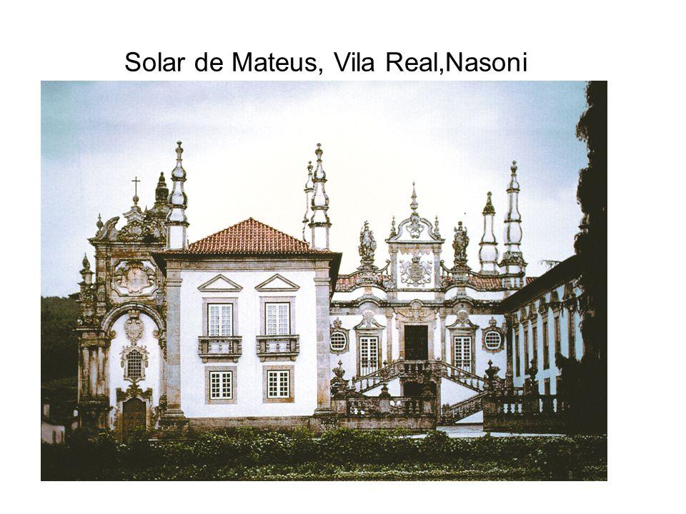 Solar de Mateus, Vila Real,Nasoni