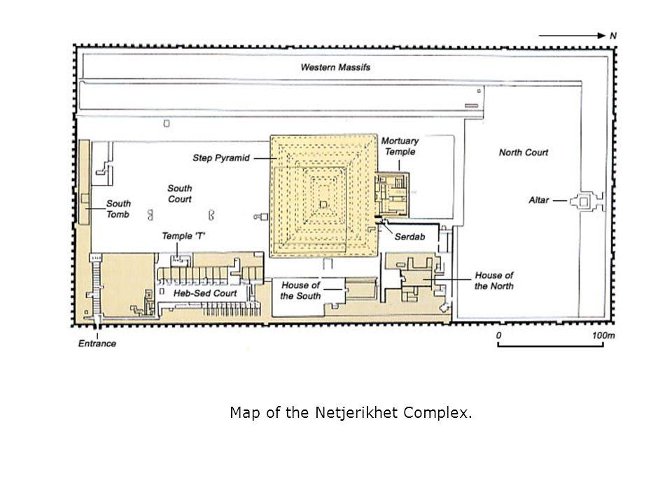 Map of the Netjerikhet Complex.