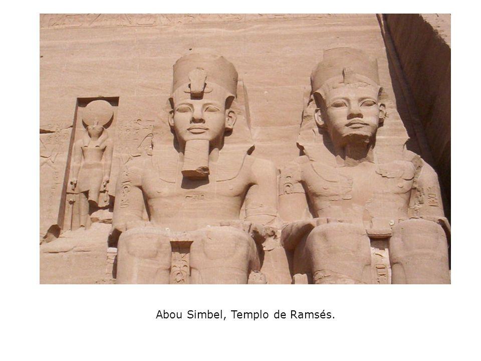 Abou Simbel, Templo de Ramsés.