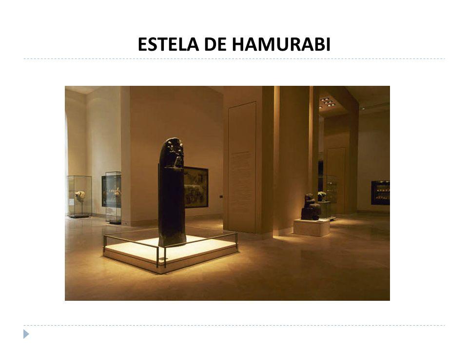 ESTELA DE HAMURABI