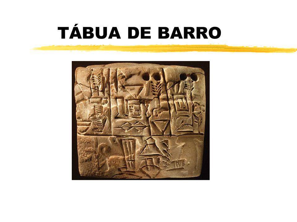 TÁBUA DE BARRO