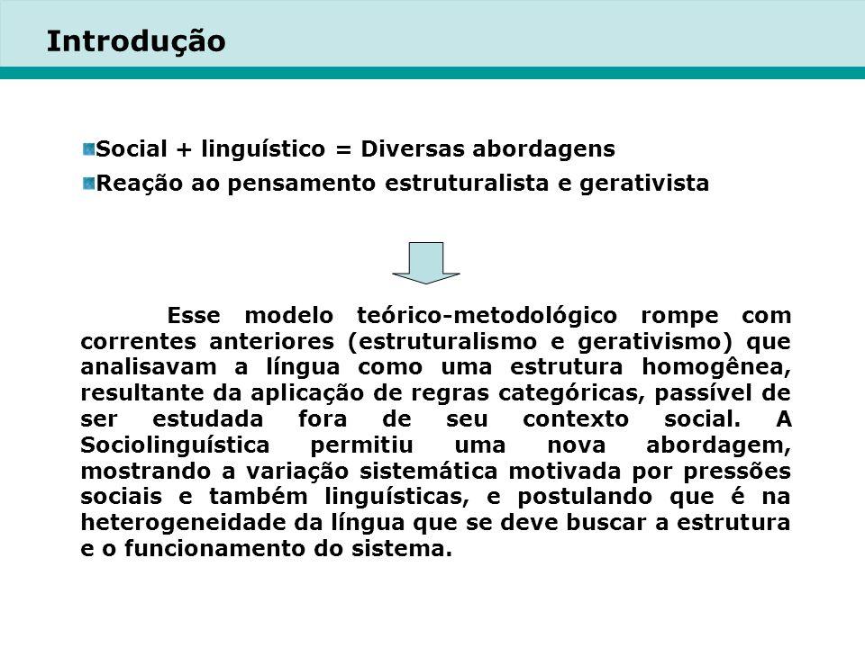 2.1.2 A dimensão espacial Uma comunidade linguística pode ser concebida espacialmente.