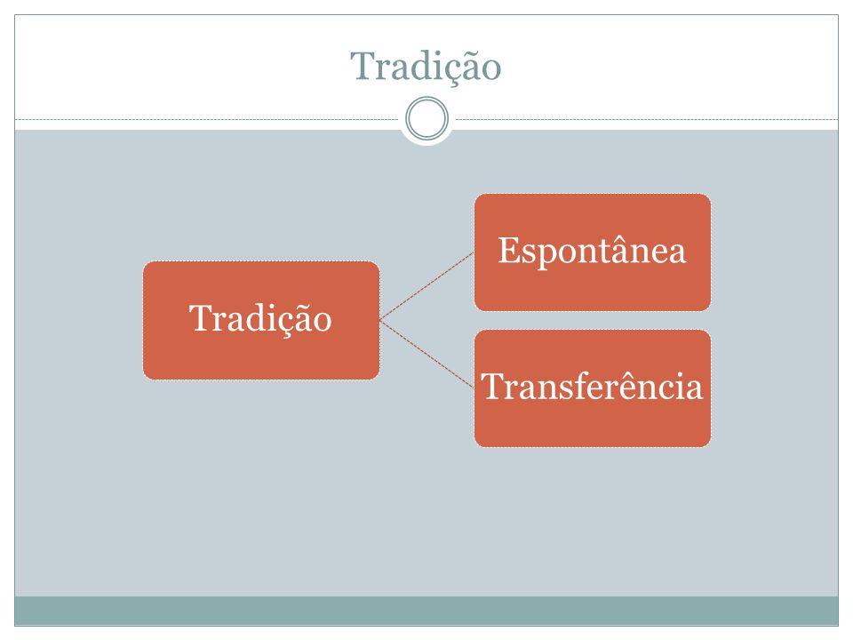 Tradição EspontâneaTransferência