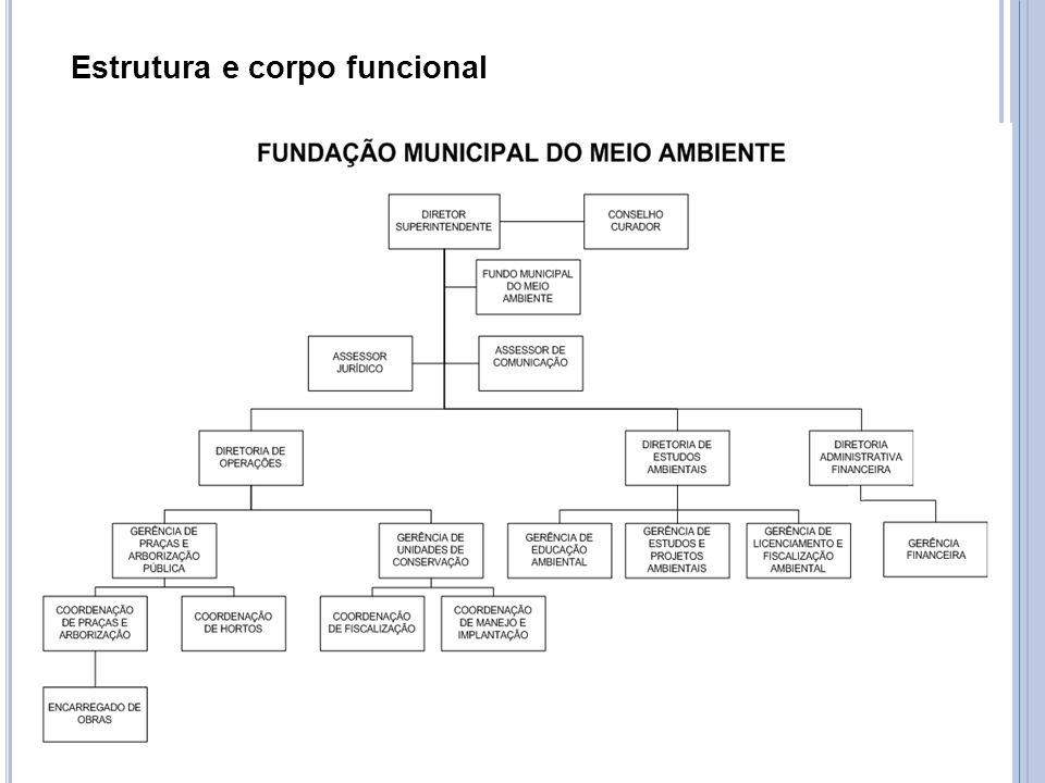 Estrutura e corpo funcional