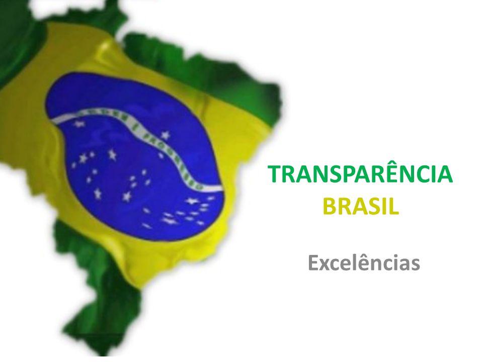 TRANSPARÊNCIA BRASIL Excelências