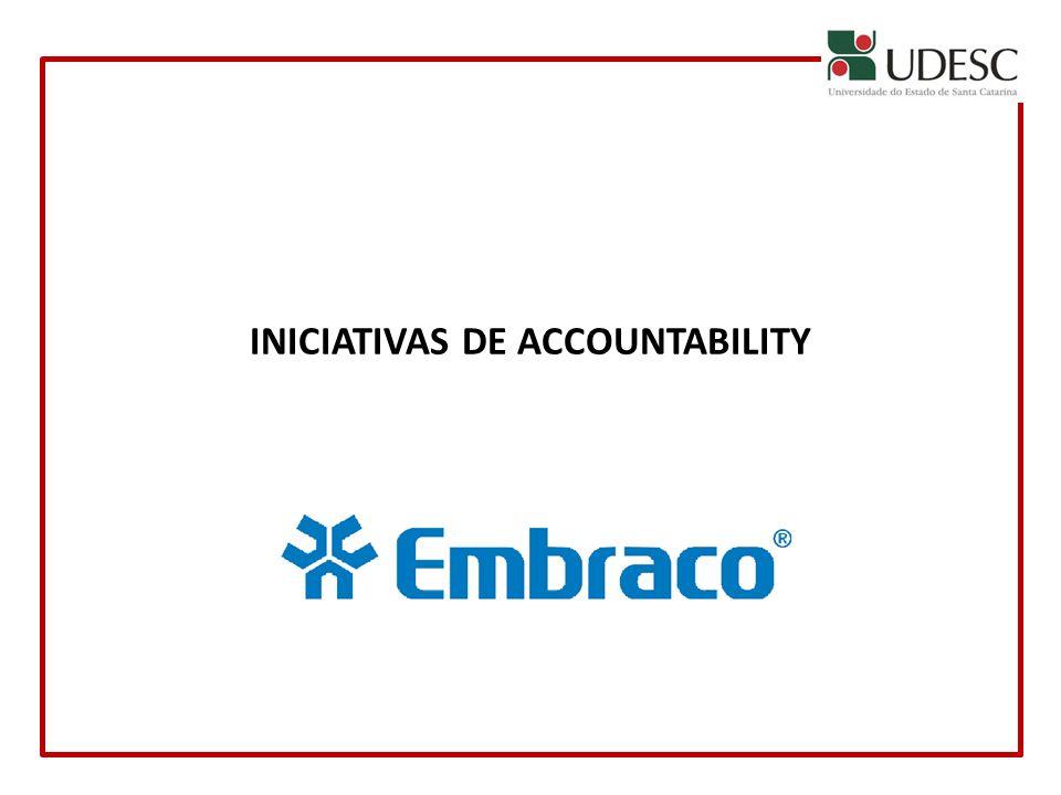 INICIATIVAS DE ACCOUNTABILITY