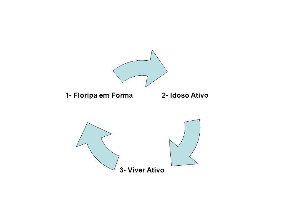 Programa Floripa Ativa Floripa em Forma Idoso AtivoViver Ativo