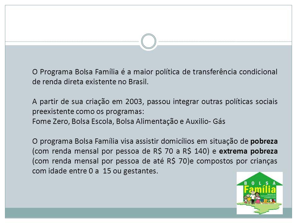 Fiscalização Visa garantir a efetividade e a transparência na implementação do Programa Bolsa Família assegurando que os benefícios efetivamente cheguem às famílias que atendem aos critérios de elegibilidade do Programa.