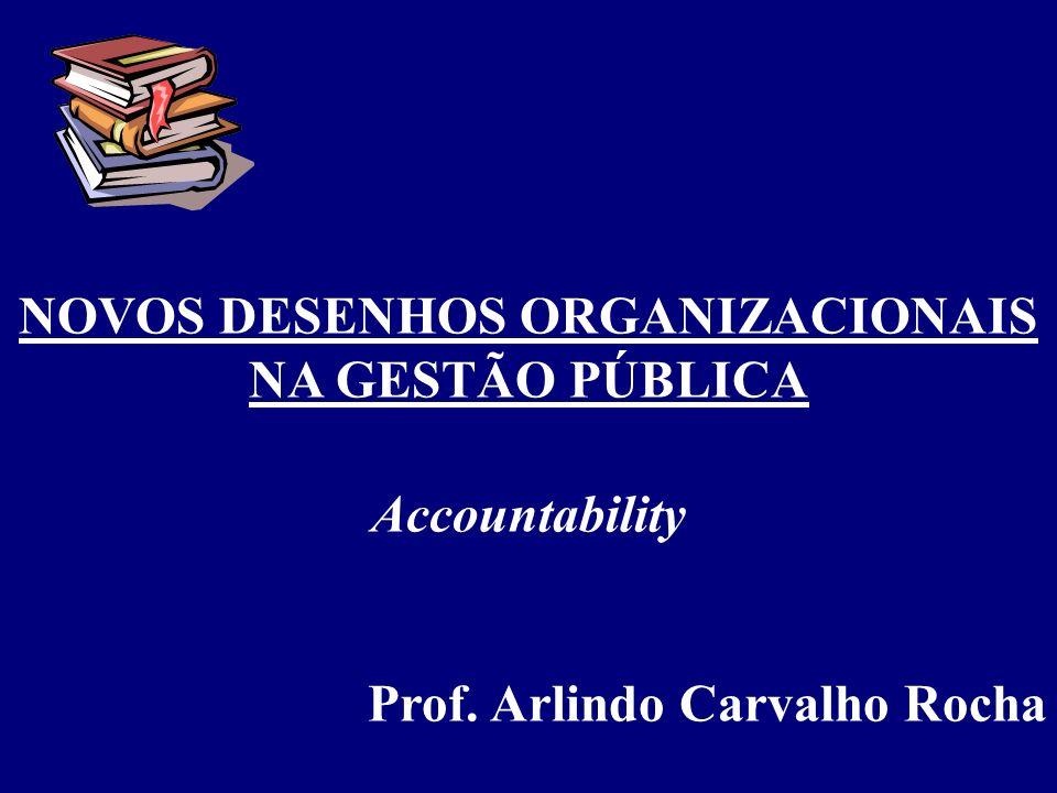1.Trazer à discussão a idéia de accountability; 2.