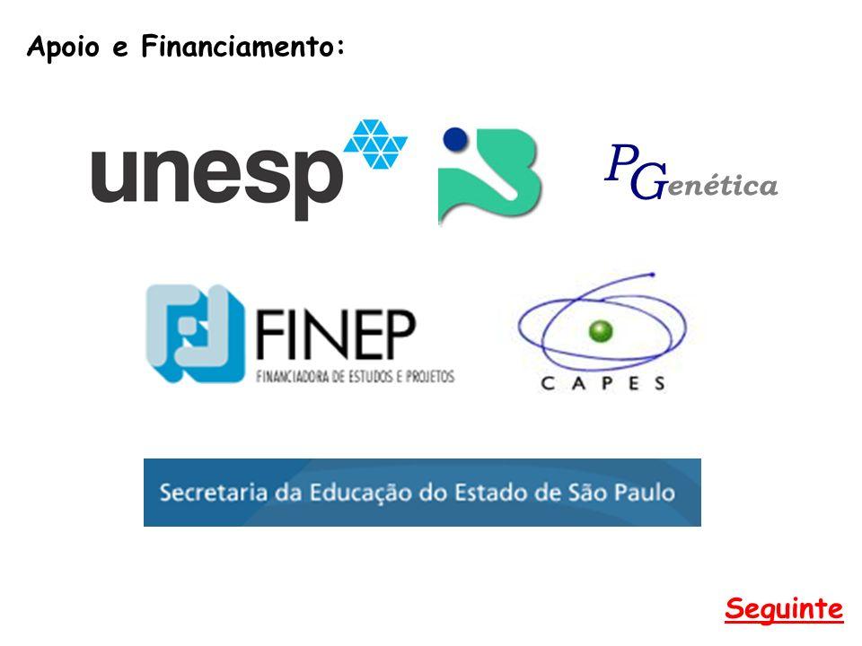 Apoio e Financiamento: Seguinte enética P G