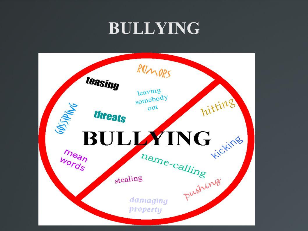 Bullying é um termo utilizado para descrever atos de violência física ou psicológica, intencionais e repetidos, praticados por um indivíduo (do inglês bully, tiranete ou valentão) ou grupo de indivíduos causando dor e angústia, sendo executadas dentro de uma relação desigual de poder.violência psicológicainglês