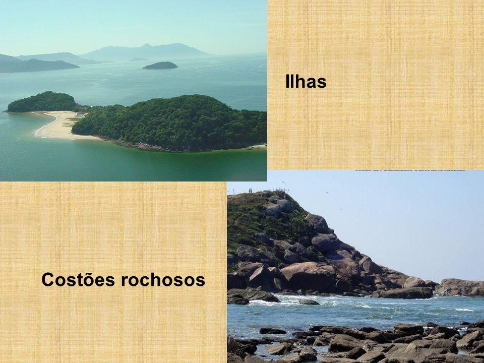 Ilhas Costões rochosos