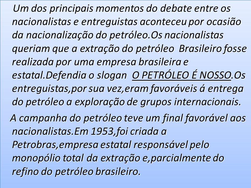 Ainda em 1953,o governo propôs a lei de lucros extraordinários,que limitava a remessa ao exterior,dos lucros obtidos Por empresas estrangeiras estabelecidas no Brasil.A lei,entretanto,foi barrada no congresso,devido a pressão de grupos internacionais.