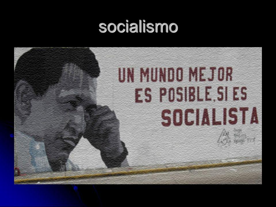 socialismo Socialismo refere-se a qualquer uma das várias teorias de organização económica advogando a propriedade pública ou colectiva e administração dos meios de produção e distribuição de bens e de uma sociedade caracterizada pela igualdade de oportunidades/meios para todos os indivíduos com um método mais igualitário de compensação.