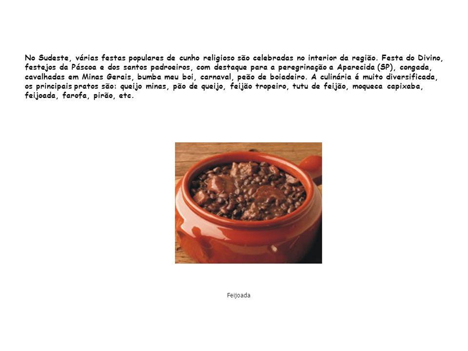 O Sul apresenta aspectos culturais dos imigrantes portugueses, espanhóis e, principalmente, alemães e italianos.
