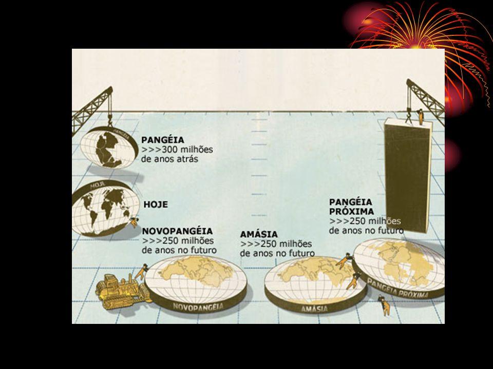 Esse super-continente do futuro não é o primeiro e não será o último.