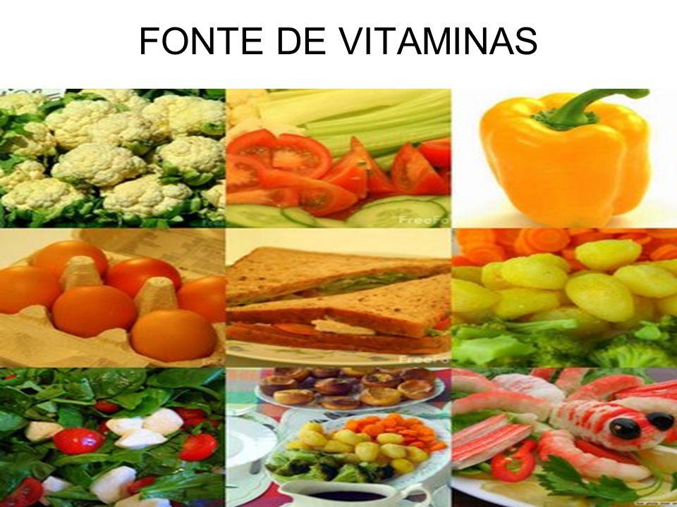 FONTE DE VITAMINAS