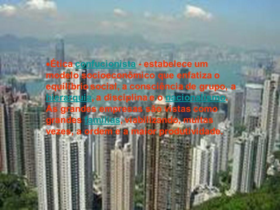 Distribuição mais equilibrada de renda em relação a outros países capitalistas;países Estados altamente centralizados e ditatoriais; Economias voltada