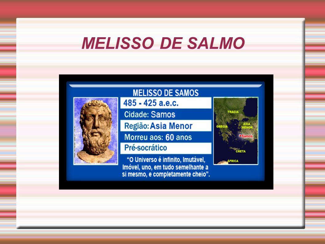 Melisso de Samos 485-425 a.e.c.