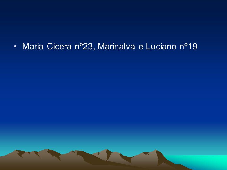 Maria Cicera nº23, Marinalva e Luciano nº19