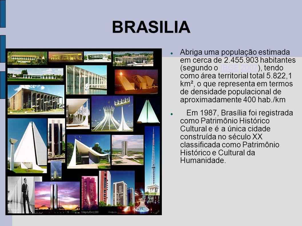 Brasilia A construção de Brasília começou em 1956, e foi inaugurada em 21 de abril de 1960 pelo Presidente Juscelino Kubitschek, sendo a terceira e at