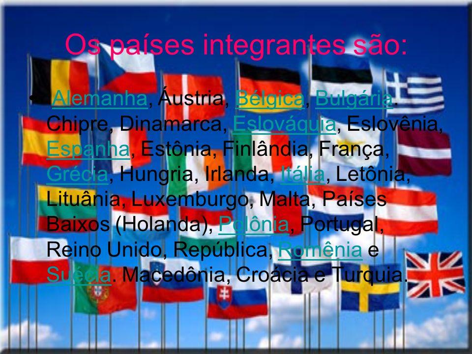 Os países integrantes são: Alemanha, Áustria, Bélgica, Bulgária. Chipre, Dinamarca, Eslováquia, Eslovênia, Espanha, Estônia, Finlândia, França, Grécia