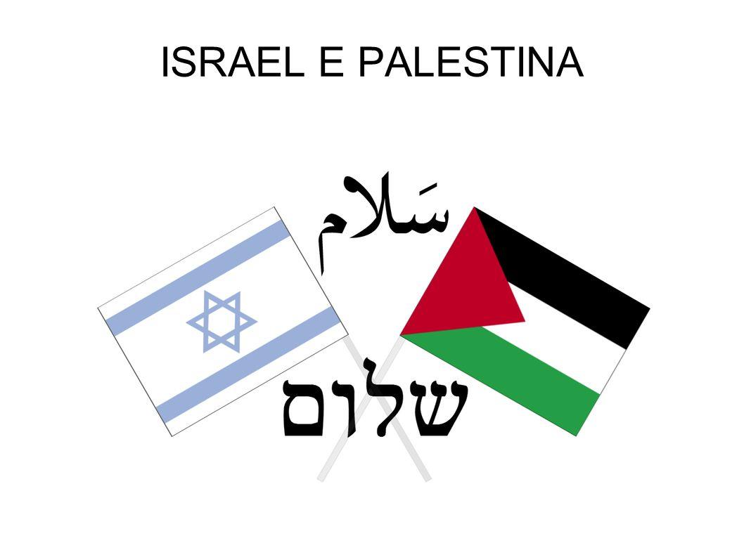 ISRAEL E PALESTINA