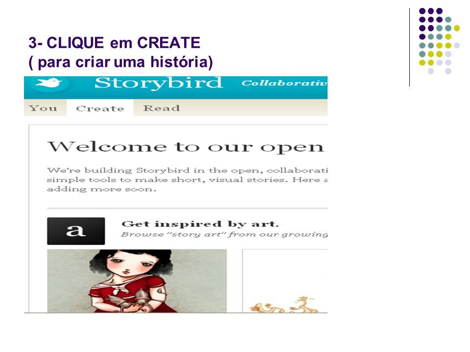 4- Escolha uma ilustração de acordo com o seu tema e clique nela para começar a produzir.