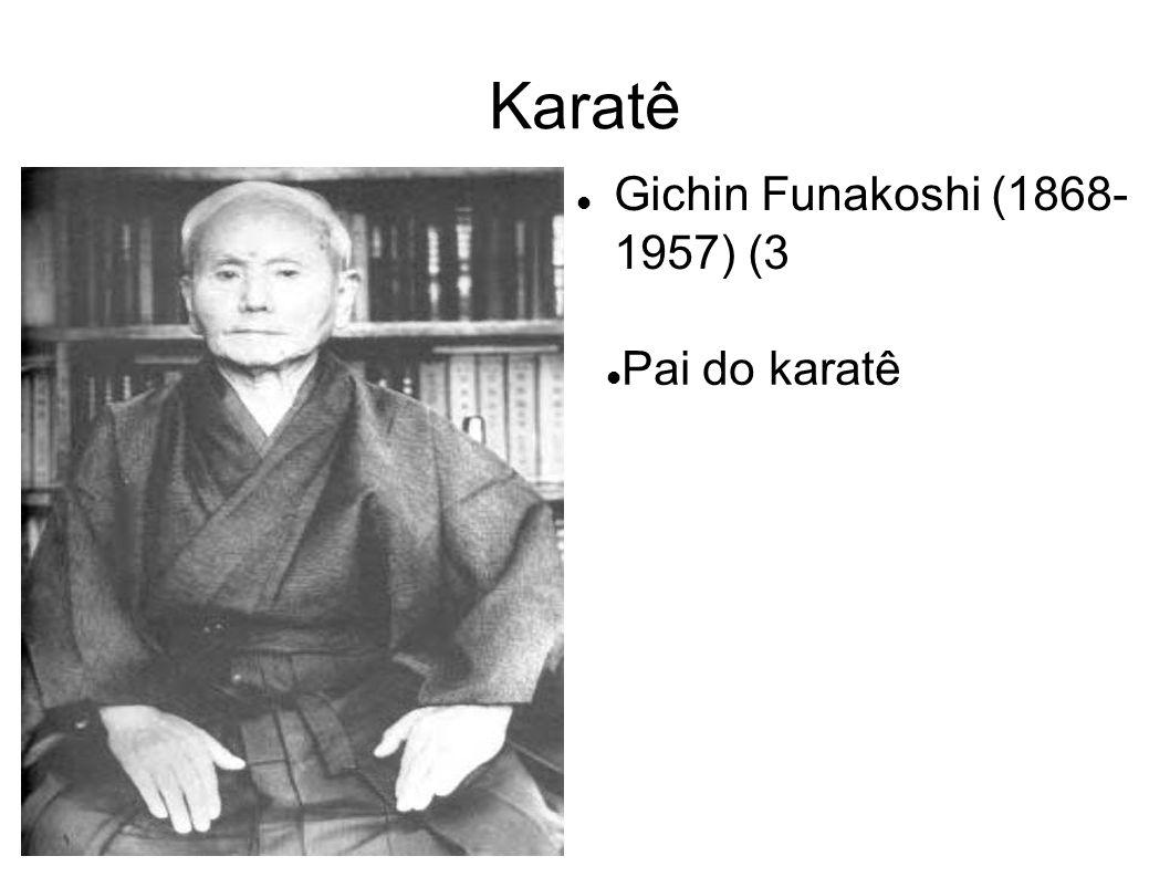 Gichin Funakoshi nasceu em Shuri, Okinawa, em 1868, o mesmo ano da Restauração Meiji.