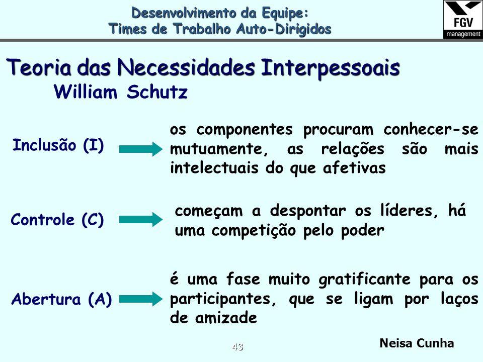 Neisa Cunha 42 EU e a EQUIPE
