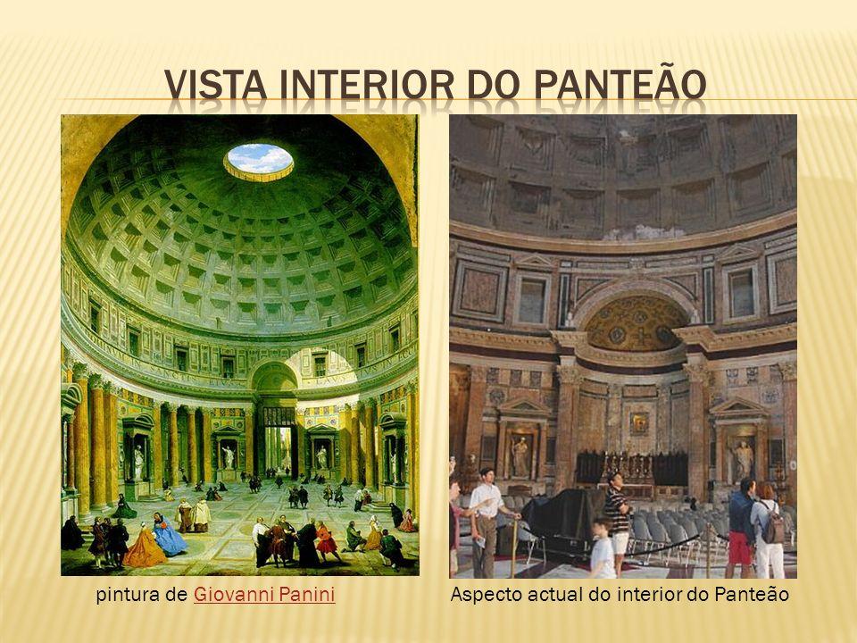 pintura de Giovanni PaniniGiovanni PaniniAspecto actual do interior do Panteão