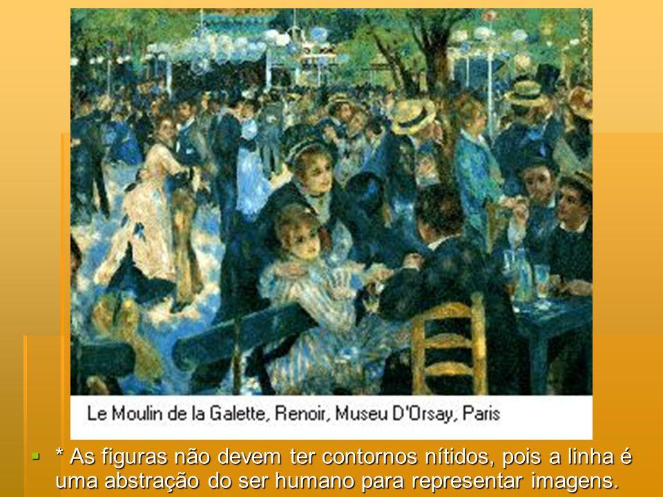 Edgar DegasEdgar Degas - sua formação acadêmica e sua admiração por Ingres fizeram com que valorizasse o desenho e não apenas a cor, que era a grande paixão do Impressionismo.