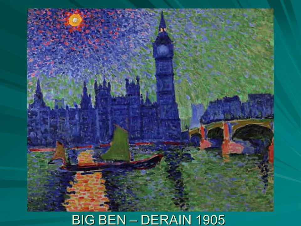 BIG BEN – DERAIN 1905