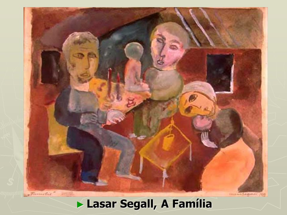 Lasar Segall, A Família Lasar Segall, A Família