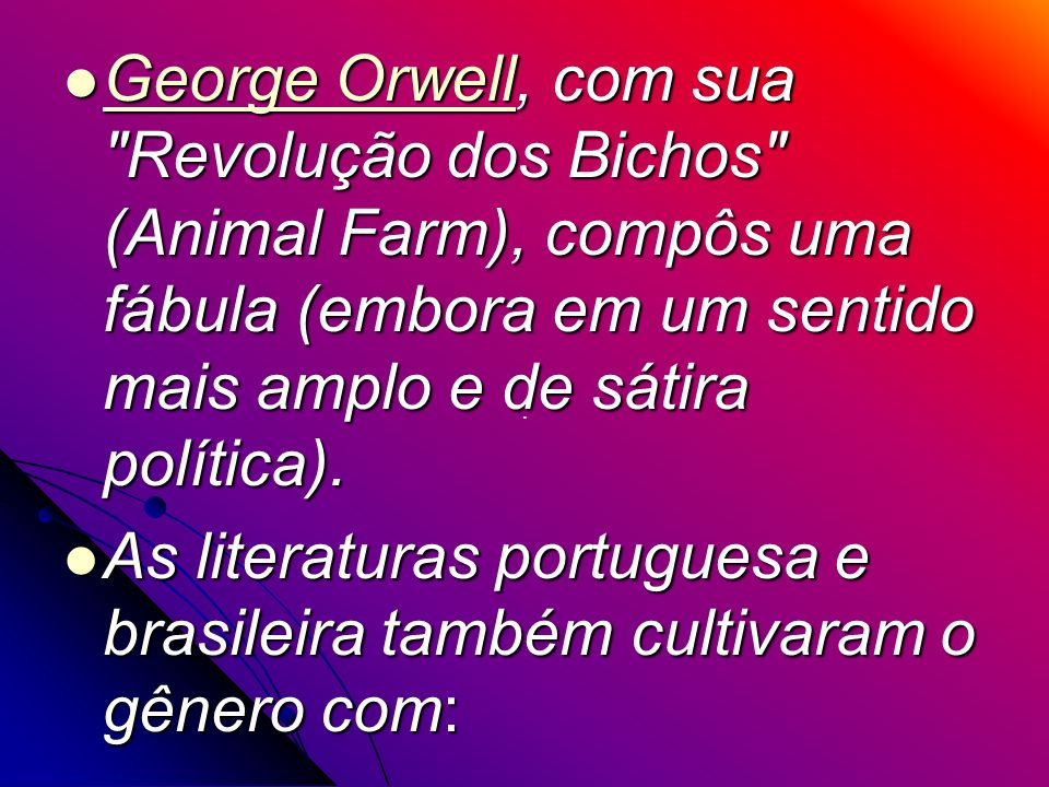 George Orwell, com sua