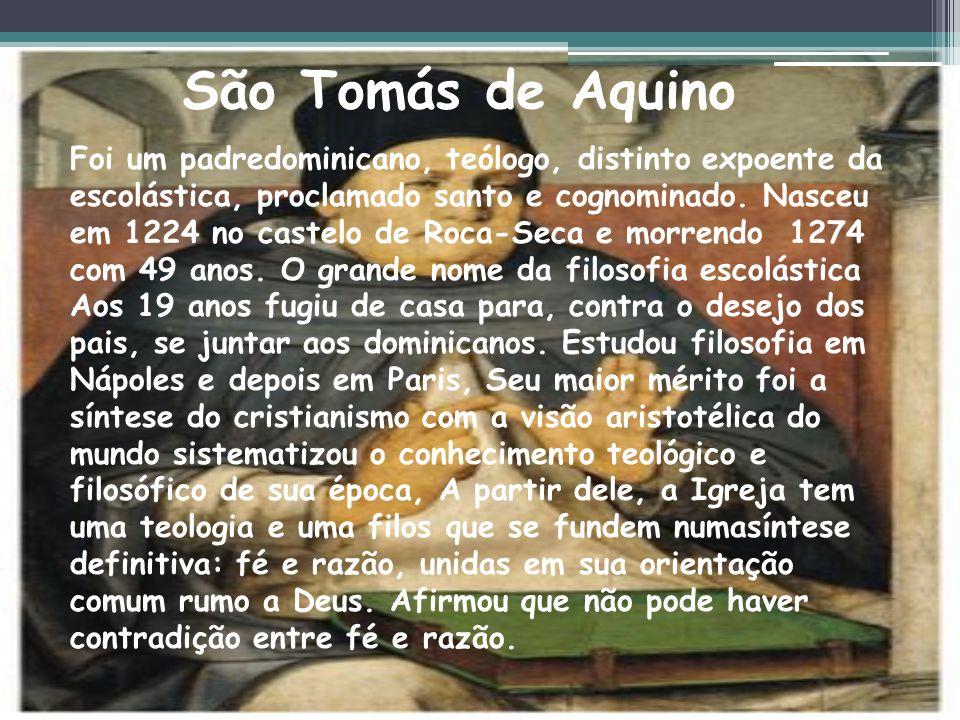 C iência na Idade Medieval de Tomás de Aquino e Santo Agostinho