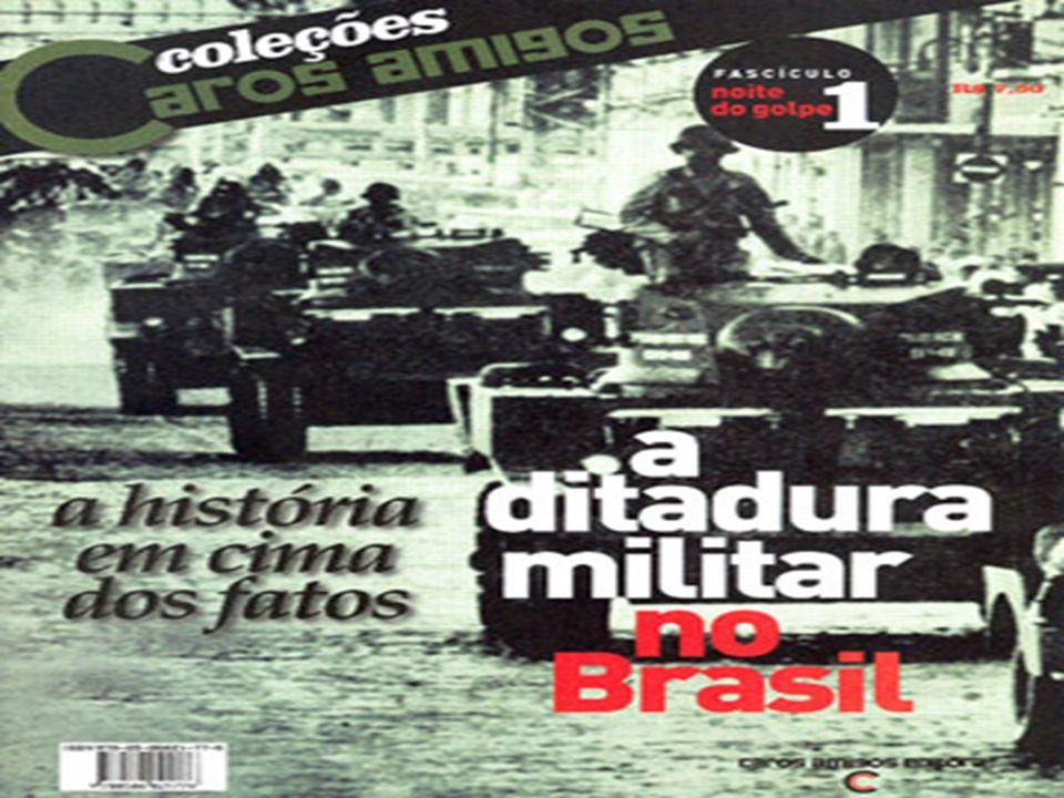 Podemos definir a Ditadura Militar como sendo o período da política brasileira em que os militares governaram o Brasil.
