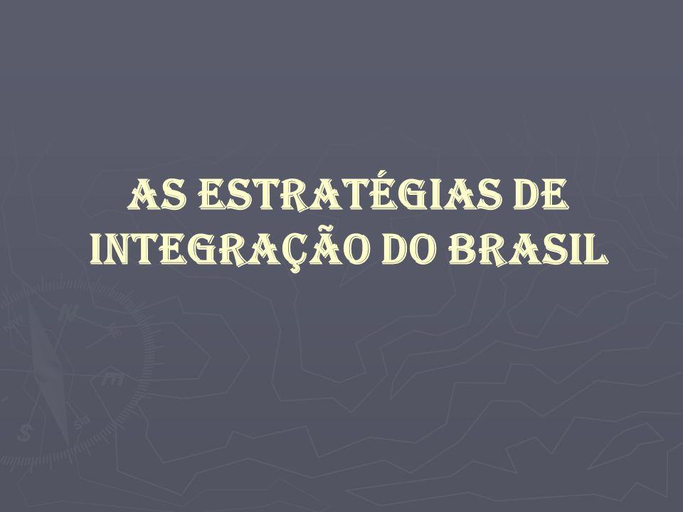 As estratégias de integração do Brasil