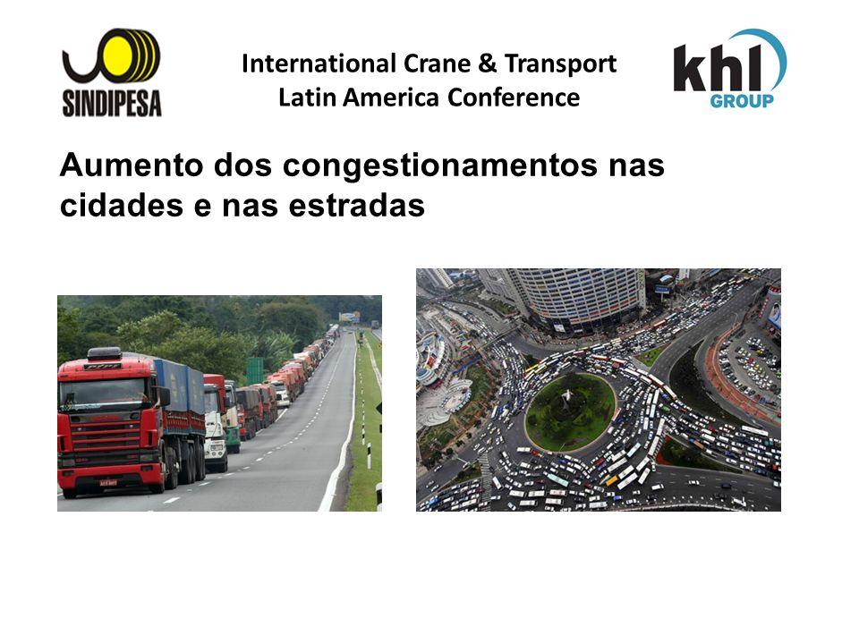 International Crane & Transport Latin America Conference FÁBRICA DE FERTILIZANTES DA PETROBRAS Aumento dos congestionamentos nas cidades e nas estrada